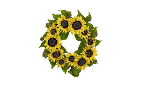 """Nearly Natural 22"""" Christmal Holiday Home Decorative Floral Wreath 647f1aad-0a20-4e9a-be8c-ce71f2995777"""