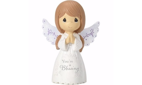 Precious Moments 192343 Figurine - Youre a Blessing Angel - 3 in. (Goods For The Home Seasonal Décor Christmas) photo