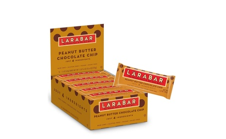 Larabar Gluten Free Bar, Peanut Butter Chocolate Chip, 1.6 oz Bars 16 d3b926fc-110e-4cb4-8c28-9a3c50715a27