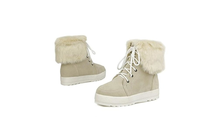 Suede Fashion Comfort Ladies Snow Boot Women Ankle Booties
