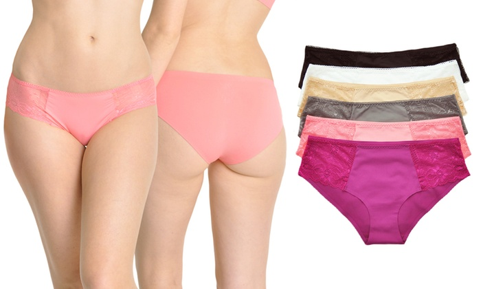 Up To 78% Off on Invisible-Line Panties (6-Pack)