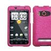 Insten Hot Pink Diamante Case (Diamante 2.0) for HTC: EVO 4G