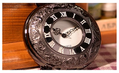 Classic Black Pocket Watch 4e735bbc-ddc5-41a3-85f6-3e495338d045