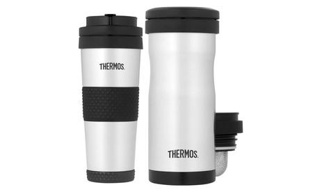 Thermos Vacuum Insulated 18oz SS Travel Tumbler & 12oz Tea Infuser ff26f98a-9a0a-4407-a850-24171e8aa5dd
