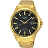Pulsar PX3076 Men's Essentials Collection Solar Powered Watch in Gold