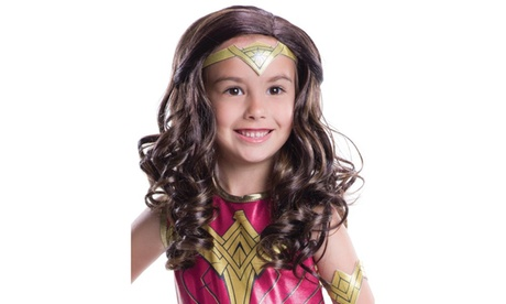 Batman v Superman: Dawn of Justice - Kids Wonder Woman Wig 3bb62981-c1e5-481e-89cc-a908dd8faa64