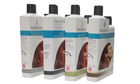 Nioxin Cleanser And Scalp Therapy Duo Set 16.9 / 10.1 oz 7d628210-f93a-4942-9f59-cd9ddbdd49f5