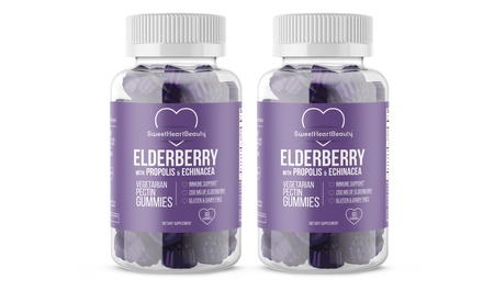 Buy One Get One Free: Elderberry Gummies with Echinacea and Propolis
