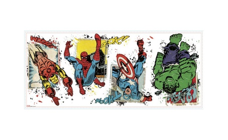Roommates Marvel Super Hero Burst Peel And Stick Giant Wall Decals bdec69f5-66cc-410f-ad09-d19e4253f37b