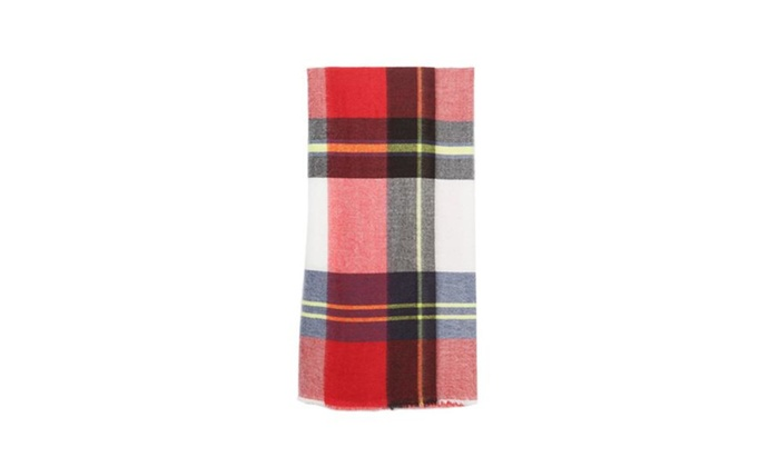 Women's Straight Casual Insulated Medium Scarf - As Picture / One Size