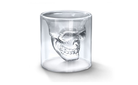 Double Shot Doomed Crystal Skull Head Shot Glass 238fa709-835d-4206-a353-988ad9d628c1