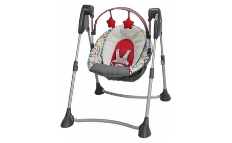 Graco Swing By Me Infant Swing, Typo c90e143f-6d1d-4a85-b384-856938dc3e43