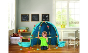 Discovery Flexible Construction Fort for Kids (69-Piece)
