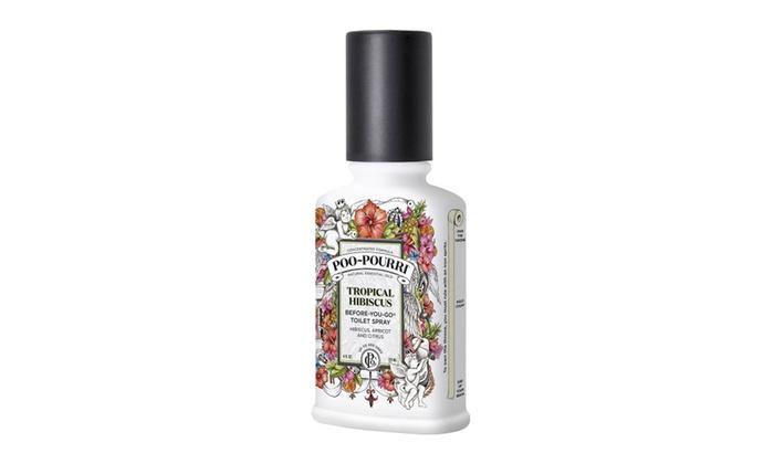 Lagniappe: Poo Pourri Tropical Hibiscus (4 oz / 118 ml)