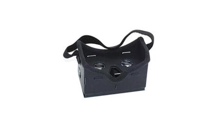 Forehead Protecting Black Color Cardboard 3D VR Headset ebadb354-d6fd-4869-b29a-45c5de99efaa