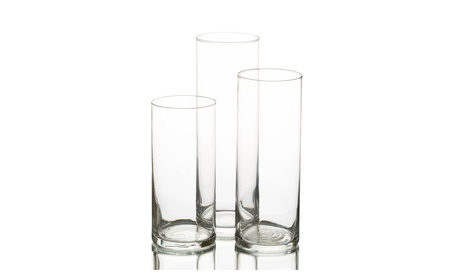 Eastland Glass Cylinder Vase Set of 3 1ef5b758-5234-4d1d-96b9-746db3ef71a6