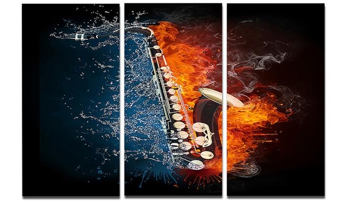 Saxophone - Music Photography Metal Wall Art | Groupon