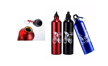 Portable Cycling Camping Bicycle Aluminum Alloy Water Bottle 750ml 230aeb97-ccf6-405a-b991-55be81b1e3fe