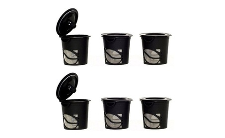 6 Pcs Amazing Reusable Refillable Coffee Cup b5576611-4493-4393-9842-36e08a7483fc