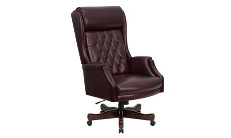 Enjoyable Traditional Executive Chair Evergreenethics Interior Chair Design Evergreenethicsorg