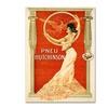 Vintage Apple Collection Pneu Hutchinson Canvas Print