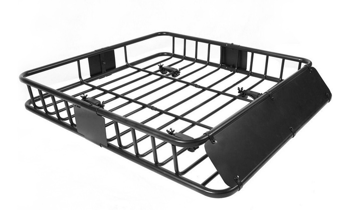 af0cc47af388 Up To 57% Off on Universal Roof Rack Cargo Car... | Groupon Goods