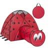 Kids Pop-Up Folding Lady Bug Play Tent