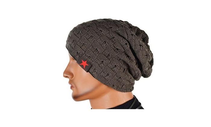 SHINA Women&Men Reversible Slouchy Beanie Hat Unisex Skull Hat