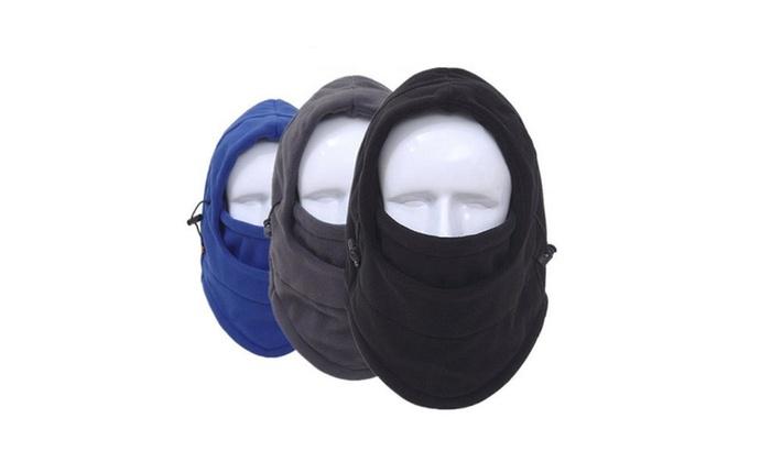 Outdoor Ski Mask Bike Winter Wind Stopper Face Hats 6 in 1