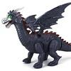 Dinosaur Family Winged Dragon Battery Op Walking Toy Dinosaur (Colors May Vary)