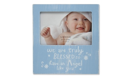 """6x4 Blue Wash """"We are truly blessed to have an Angel like you"""" 3703df68-d66c-4153-92ad-a62e0d2bb16a"""