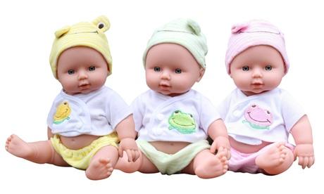 12inch Lifelike Newborn Baby Doll Silicone Vinyl Reborn Handmade Dolls