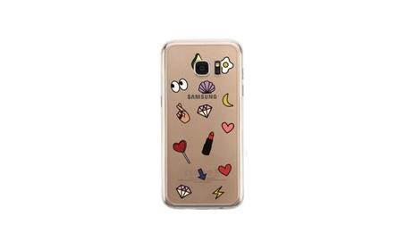 Cute Emoji Pattern Cute Clear Phone Cover a9a474ed-02ab-4303-95d3-5ca893bdef50