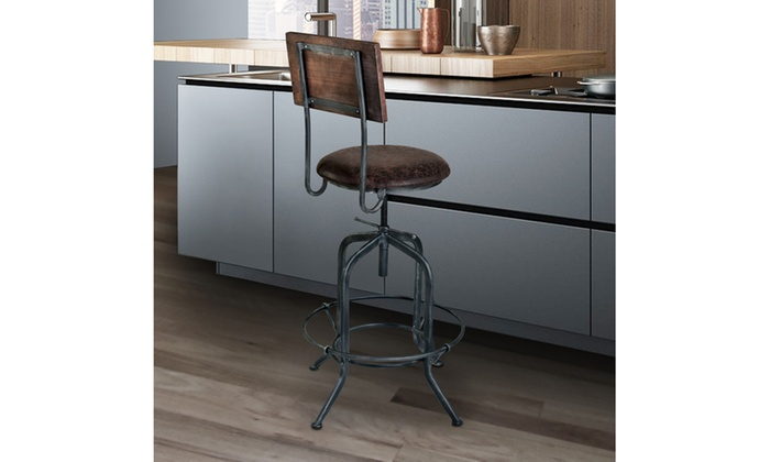 Armen Living Damian Adjustable Barstool ...