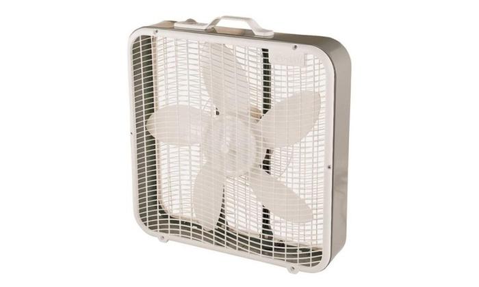 Aerospeed BX100 Box Fan, 20″, 3-Speed