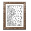 Kathy G. Ahrens 'Key Telling How Many To Find' Ornate Framed Art
