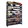 10-Tier Freestanding Shoe Rack - Holds up to 50 Pairs
