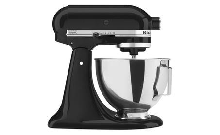 Kitchen Aid Stand Mixer w/ 4.5 Qt Capacity & 10 Speed Settings - Black b068c4ba-0cf4-4d41-b6dd-cfea6775d2c2