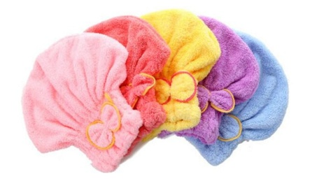 Hair Turban Quickly Dry Hair Hat Wrapped Towel Bath Accessory fe9e9f09-2bab-4038-9d70-584b51199158