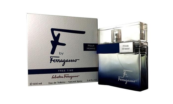 F By Ferragamo Free Time Eau de Toilette for Men (3.4 Fl. Oz.)   Groupon bc71bf334c