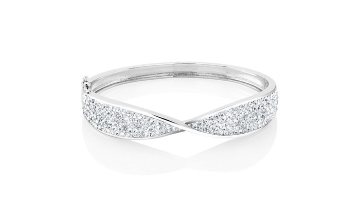 LuxuryMe: Crystal Freedom Of Life Bangle
