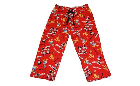 Disney Mickey & Minnie Mouse Group Junior Sleep Pajama Pants 2e24460a-12ec-4310-b98e-e020de144a0d