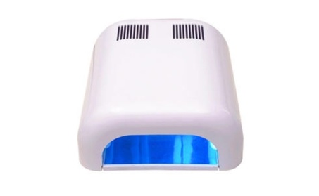 36W Manicure Nail Polish UV Lamp Dryer Gel Curing Acrylic Timer Light photo