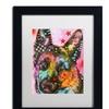 Dean Russo '25' Matted Black Framed Art