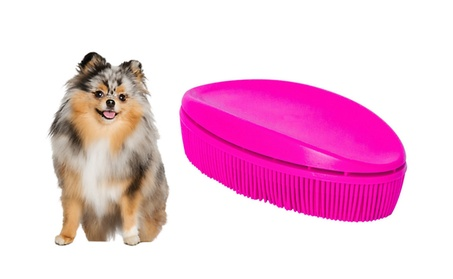 Small Lint Removal Pet Brush Perfect For Pet Grooming 6bc943cf-c9d8-476a-aaa0-d0b6cf22fda5
