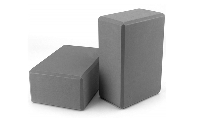 Up To 17% Off on Yoga Block 2 Pack EVA Foam Bl    | Groupon