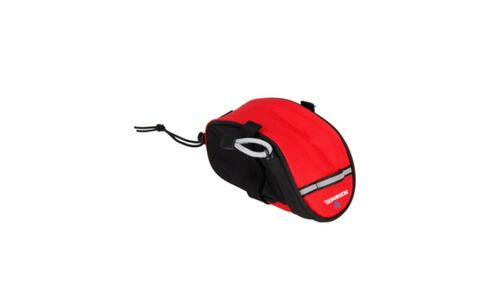 Bike Bicycle Cycling Saddle Pouch Back Rear Seat Bag Red