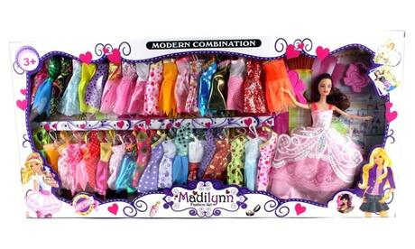 Modern Madilynn Children's Kid's Toy Fashion Doll Playset w/ Doll, Accessories bec664f6-0ba3-4395-b119-c8bb57ae58ec