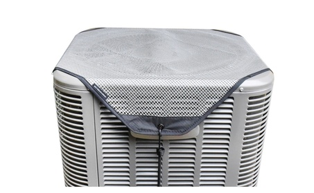 Sturdy Covers AC Defender - All Season Air Conditioner Cover - Grey f697949d-3c68-4165-b5a1-66ab16bfafe8