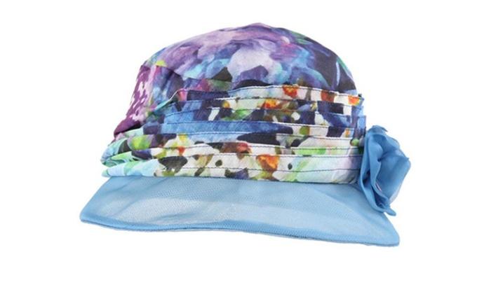 Women's Solid Floppy Brim Casual Simple Wide Brim Sun Hat